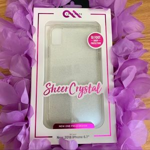 Case-Mate Sheer Crystal Phone Case for Iphone XR